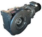 AK Series-Bevel Helical Geared Motor